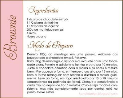 Receita: Brownie