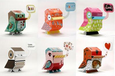 Free: Criaturas de Papel por NaniBirds
