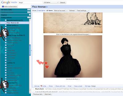 Google Reader – Ninja!