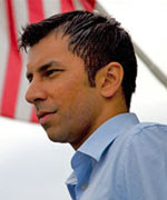 Ashwin Madia (photo: Ashwin Madia for Congress