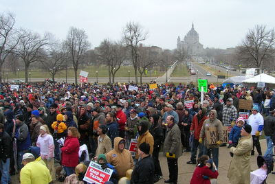Tax cut rally 2008 (photo: North Star Liberty