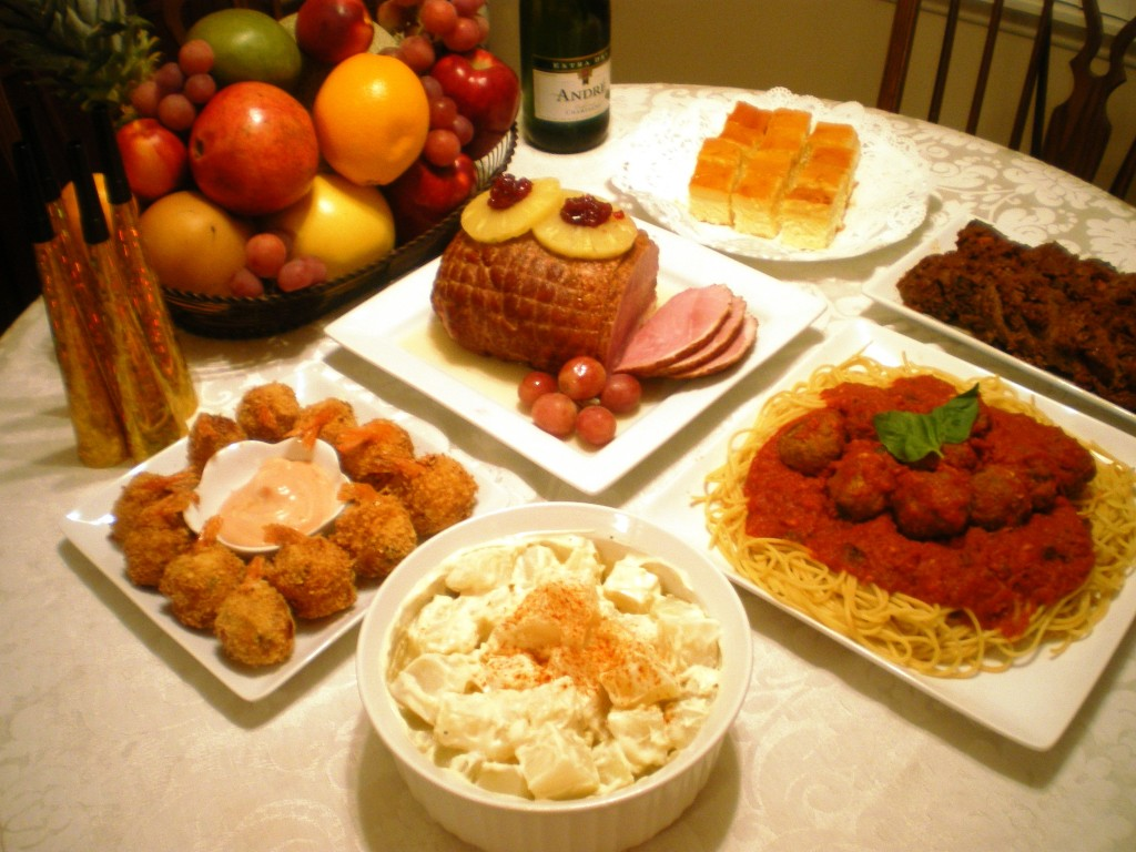 Pinoy Food For New Years Eve Party