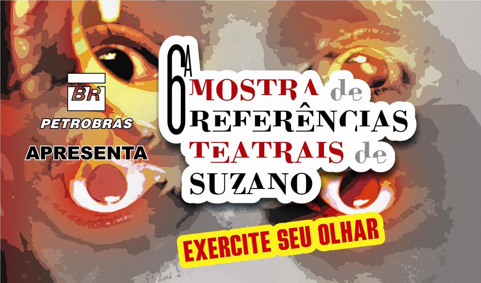 6ª Mostra de Referencias Teatrais de Suzano