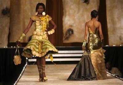 Fashion Design Competitions on Nairobi Kenya A Model In Bayo Adegbe S Classic Design