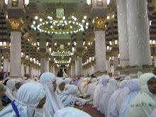 Dalam Masjid Nabawi