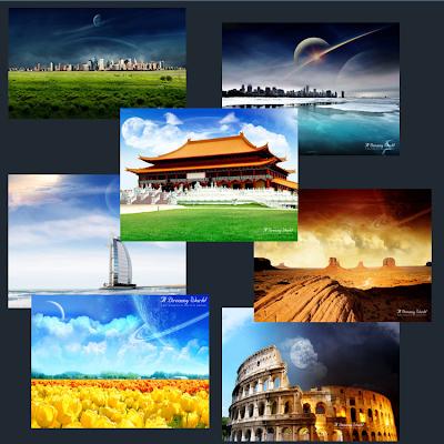 Hermosos y diferentes Mundos de Ensueño Dreamy World Wallpapers - personalizacion