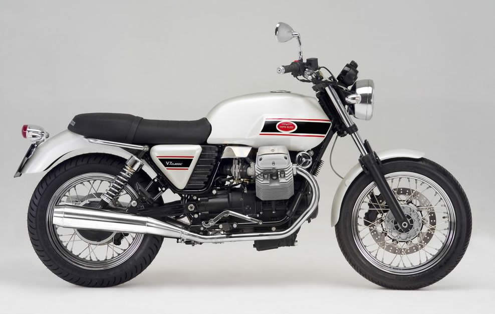 I might go for the Guzzi