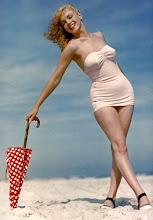 Marilyn con paraguas
