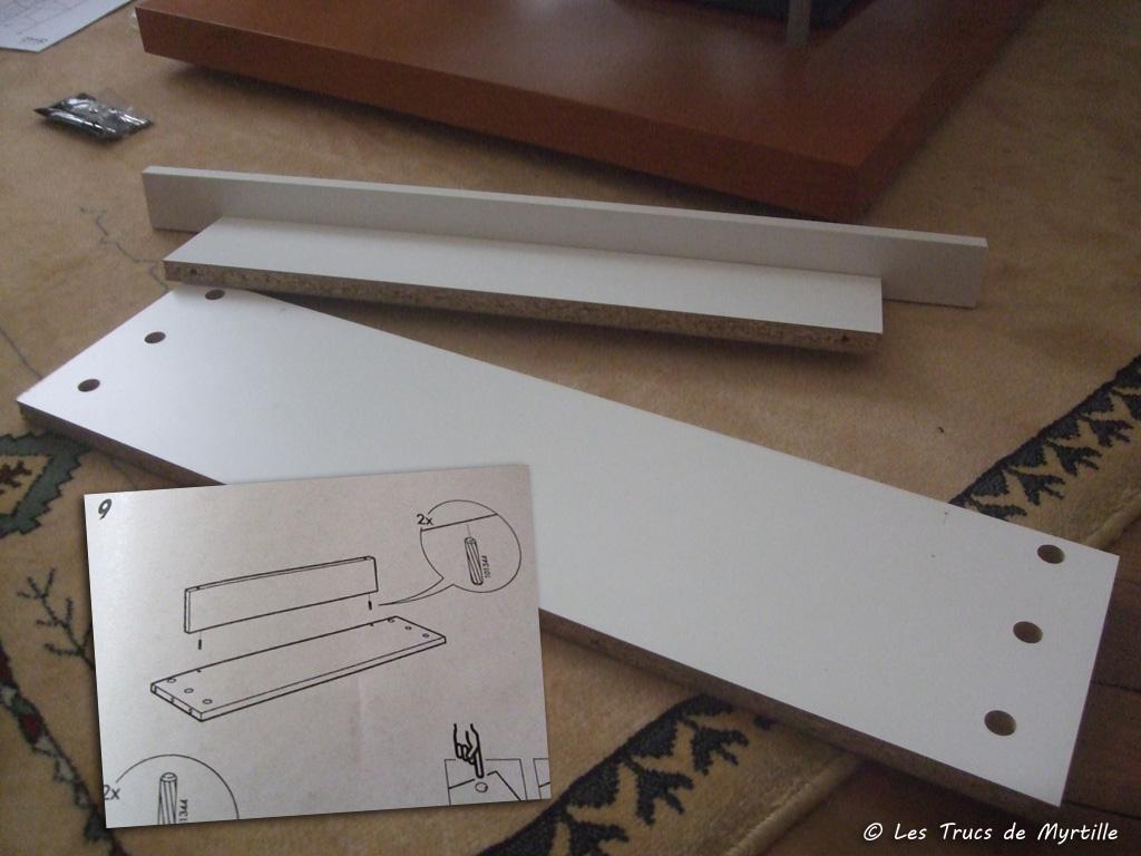 Les trucs de myrtille enfin un bureau d 39 colier - Ikea planche bureau ...