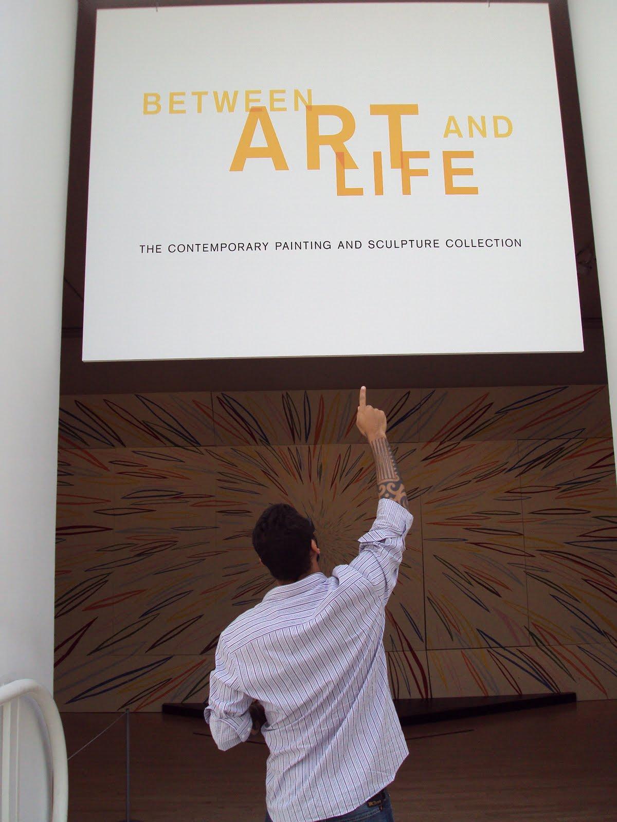 Entre a vida e a Arte , SFMOMA MUSEUN OF MODERN ART