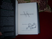 Signed Blood Promise
