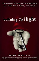 Defining Twilight.