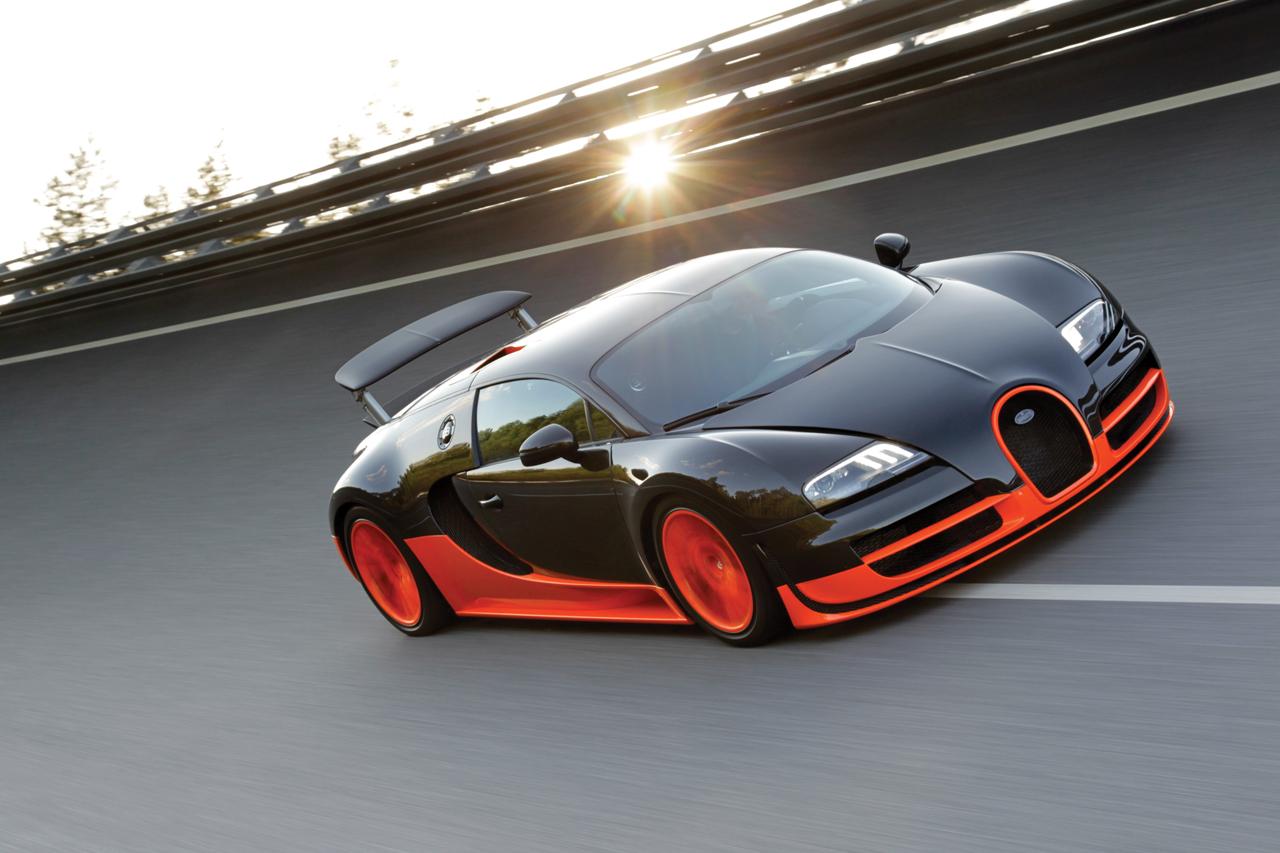 Bugatti Veyron SuperSport pics BBC Top Gear