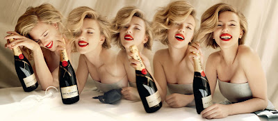 Scarlett Johansson Moet and Chandon Ad Campaign Seen On www.coolpicturegallery.us