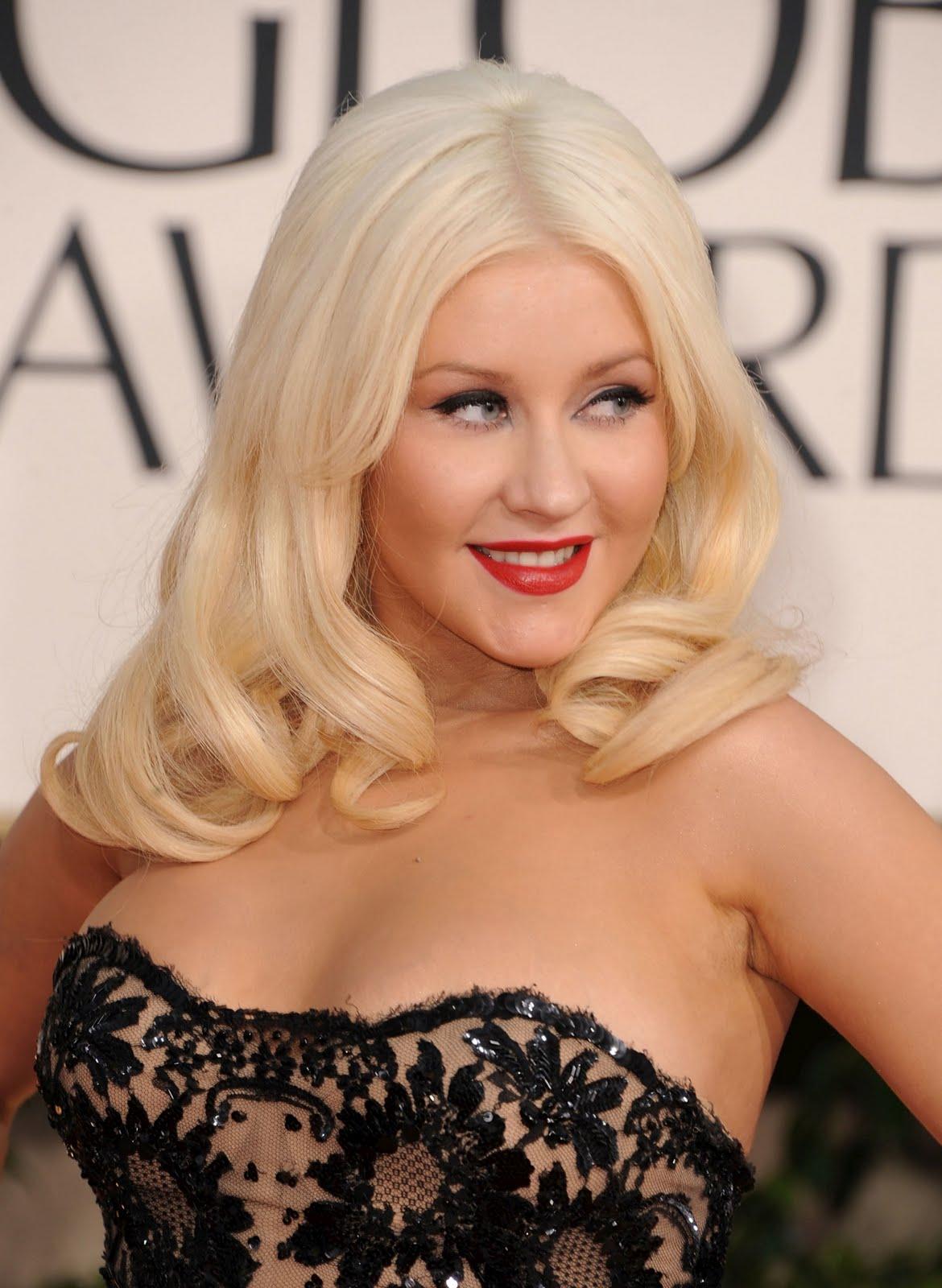CelebrityBuzz.Us: Christina Aguilera Hot Transparent Dress ... Christina