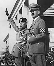 Mussolini ed Hitler