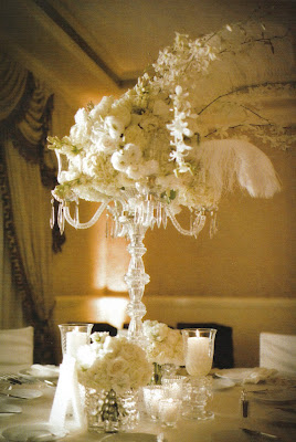 Feather Centerpieces Rental Long Island