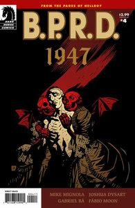 B.R.P.D 1947 Limited Series 4 Of 5 October 2009 Comic eBook