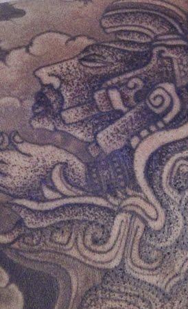 tatuajes de gargola. Algunos de los tatuajes aztecas y mayas y sus significados que pueden
