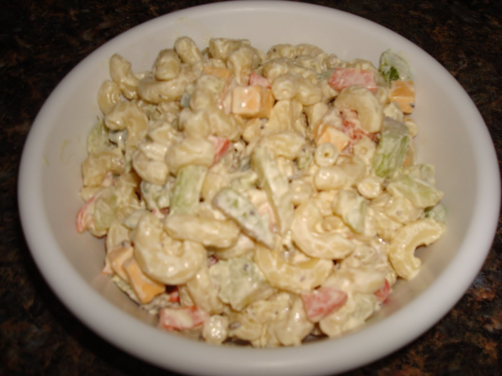 Make lemonade and more!: Macaroni Salad