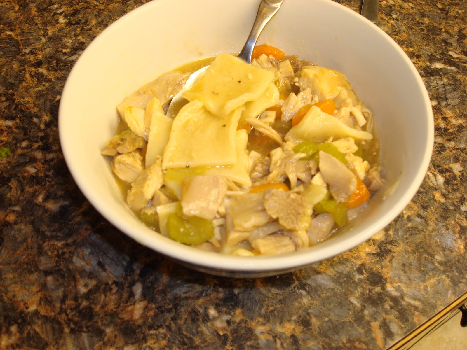 Make lemonade and more!: Leftover Turkey and Dumplings