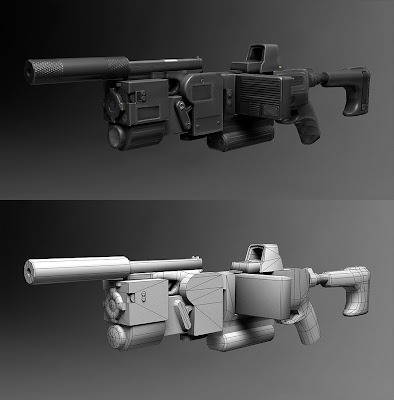 3d corner gun future weapons