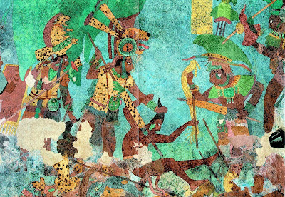 Mayan Warriors weapons art