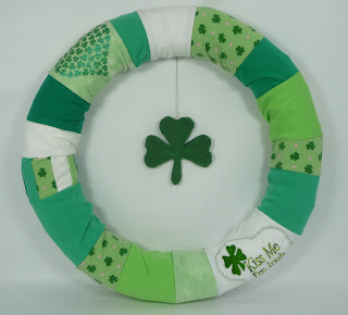 St. Patrick's Day rewreath wreath