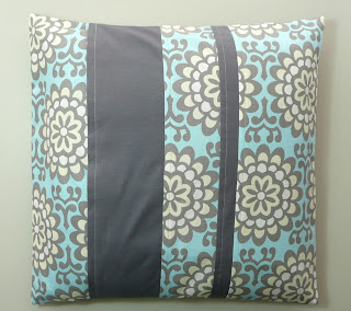Amy Butler pillow back