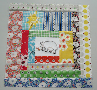 katie jump rope quilt block bear embroidery