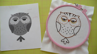 katie jump rope quilt block owl embroidery