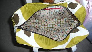 orla kiely tote bag
