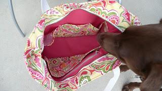 handmade diaper tote bag