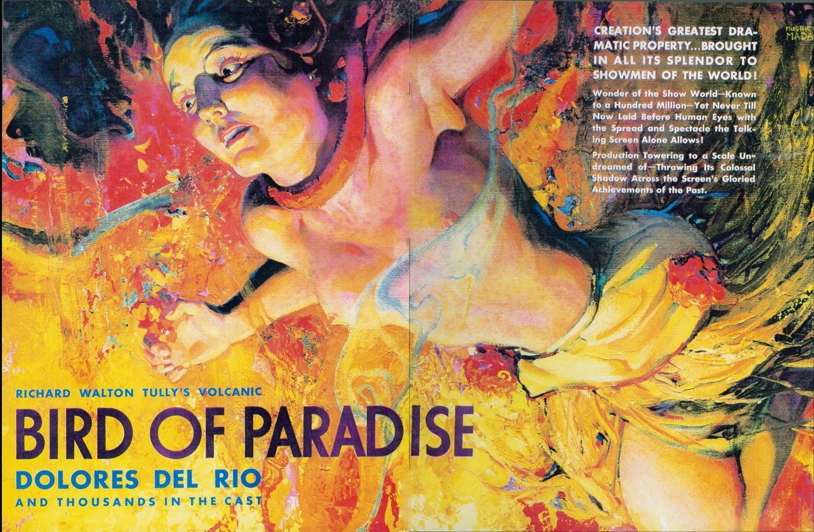 Bird Of Paradise 1932
