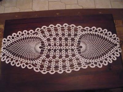 Caminos de mesa tejidos