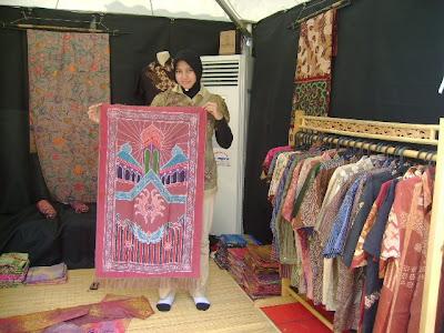 IKUT memeriahkan ajang Pekan Batik Internasional (PBI) selama seminggu di  Kawasan Jalan Jeyatu 577bfe0f12