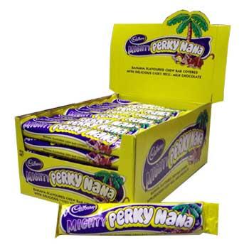 Cadbury's Mighty Perky Nana