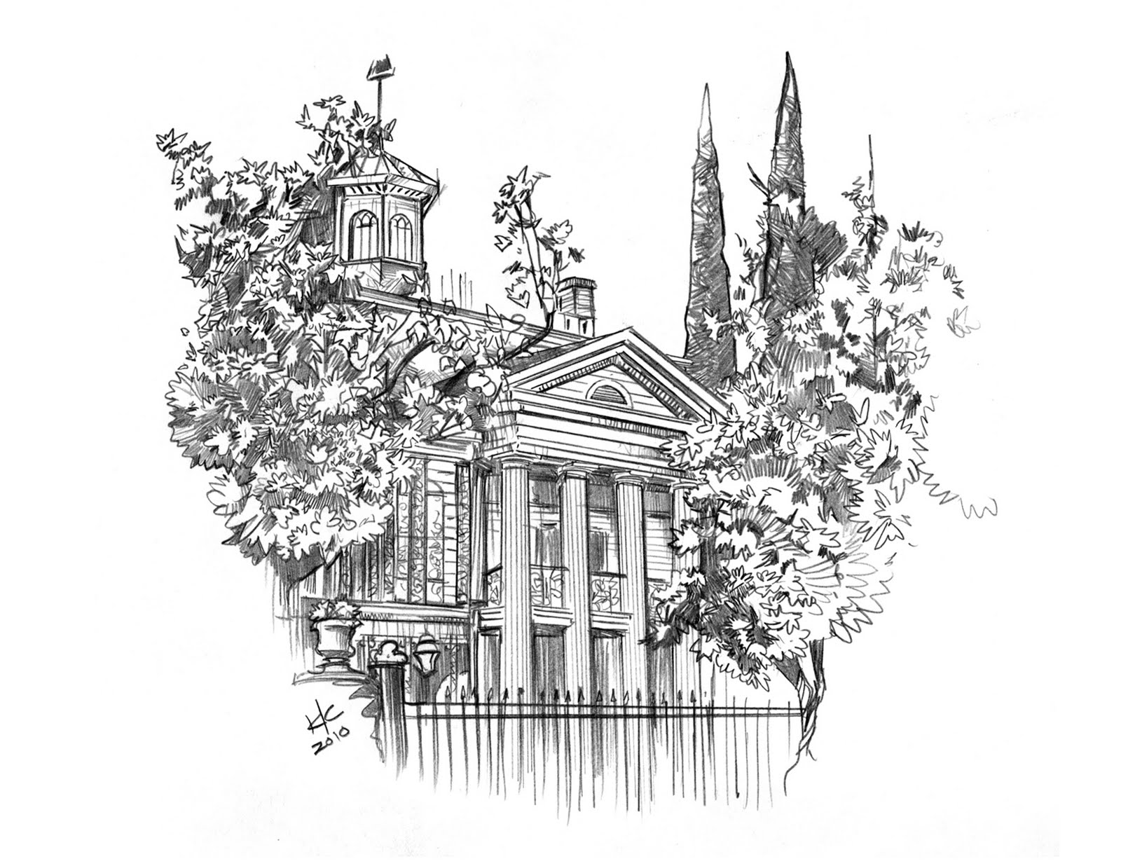 haunted mansion coloring pages - the bad flip blog back to disneyland haunted mansion 01