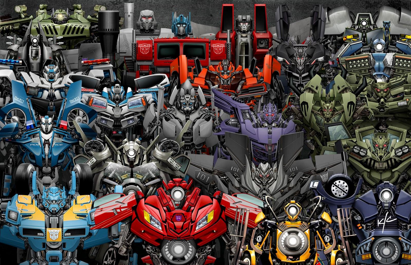 Transformers 6 : Bumblebee Movie - CAST ROBOT 2018 (1080p) VOL 1 ...