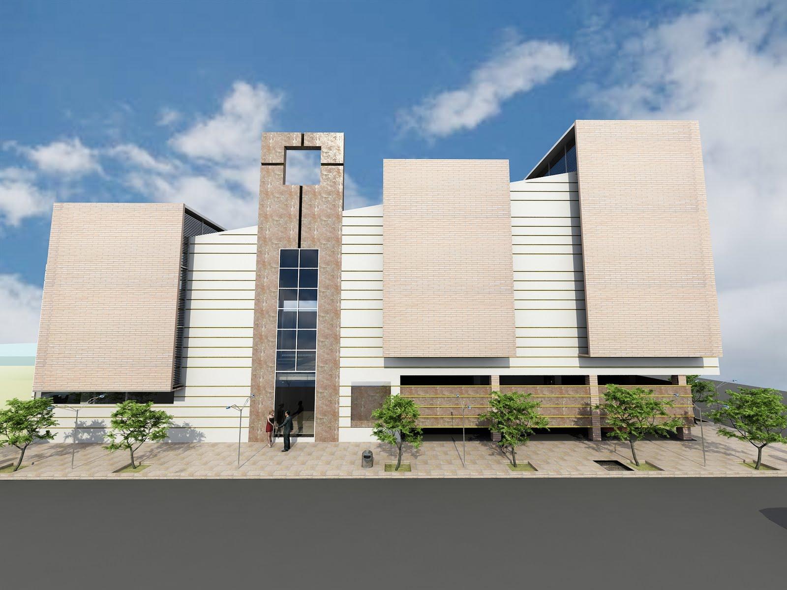 Arquibitar arquitectos iglesia cristiana alianza sinai for Conceptualizacion de la arquitectura