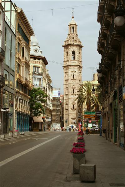 C/ de La Paz -- Torre de Sta Catalina