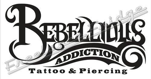 This is a logo design for a new tattoo shop.