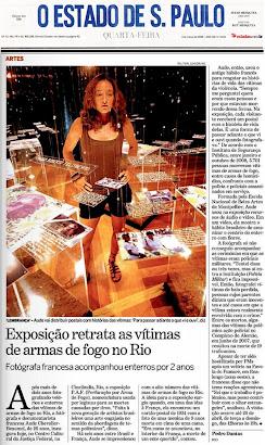 materia do jornal Estado de Sao Paulo do dia 4 de março de 2009