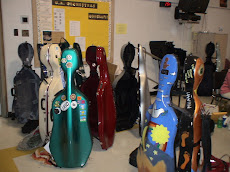 Cello Day at UAHS cases