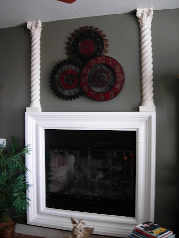 Fireplace Before Final Design