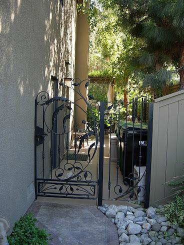 Landscaping Gate Former Home