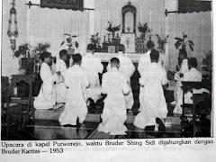Bruder Sihing Widi bergabung masuk Bruder Karitas
