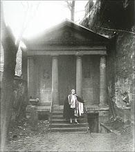 Le temple de l'Amitié de style grec, 20 rue Jacob à Paris