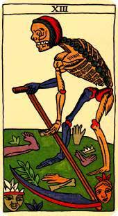 Brujeria/Magia Mística: Tarot-la-muerte