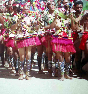 Sway to the tapioca dance from the Trobriand Islands of the Milne Bay